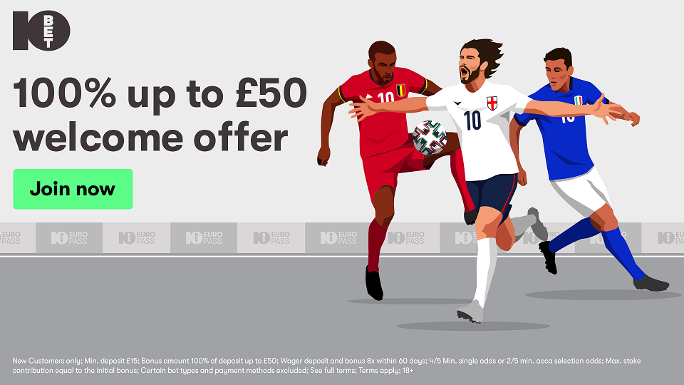 !0bet welcome offer up to £50 sports bonus